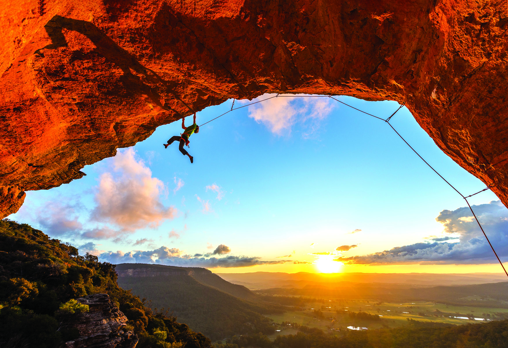 Do you climb for the technical mastery? Roman Hofmann, Double Adapter (31) at Gateway, Blue Mountains. PICTURE CREDIT: Simon Carter