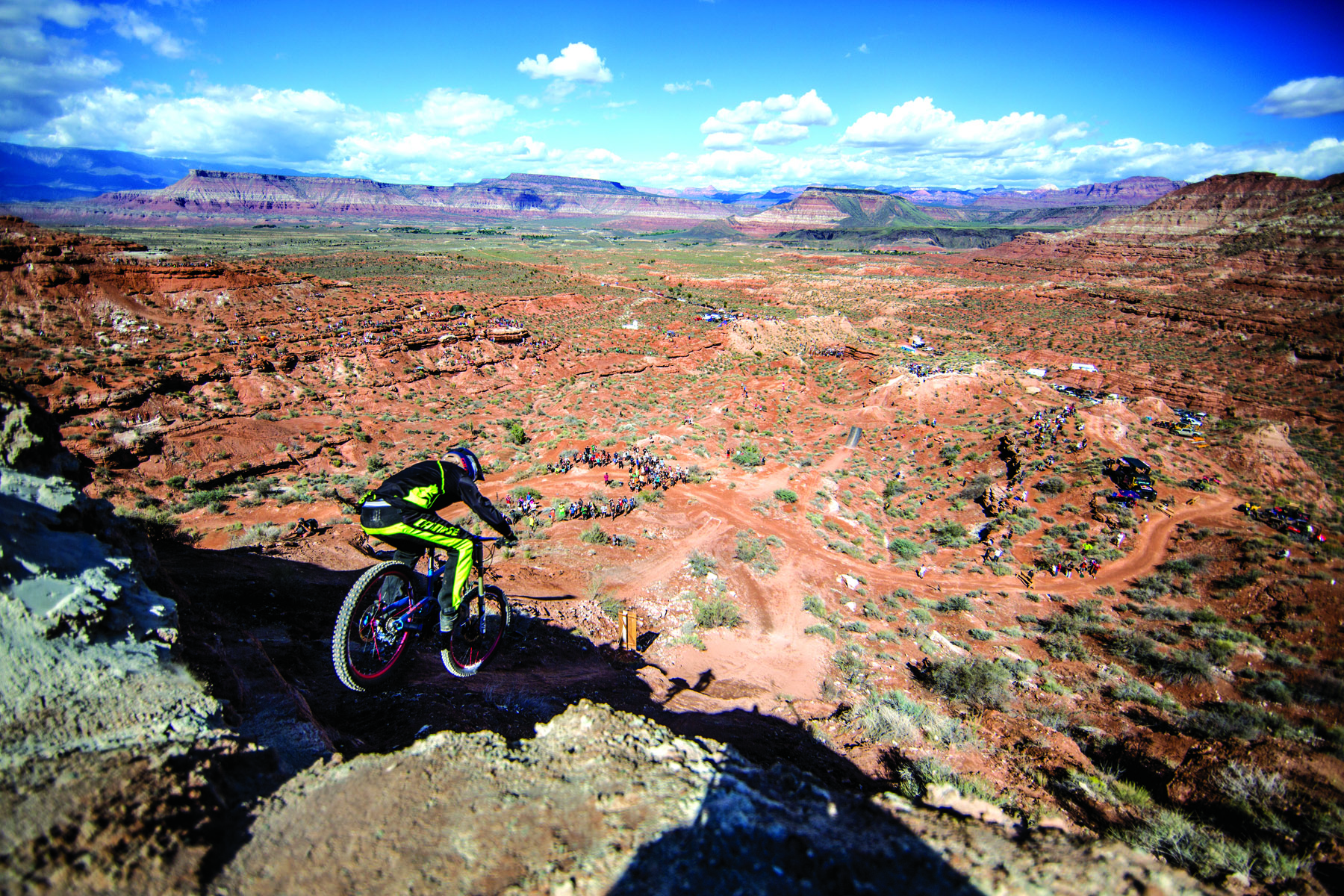 Paul Basagoitia during the Red Bull Rampage Finals in 2014. PICTURE CREDIT:Dean Treml/Red Bull Content Pool