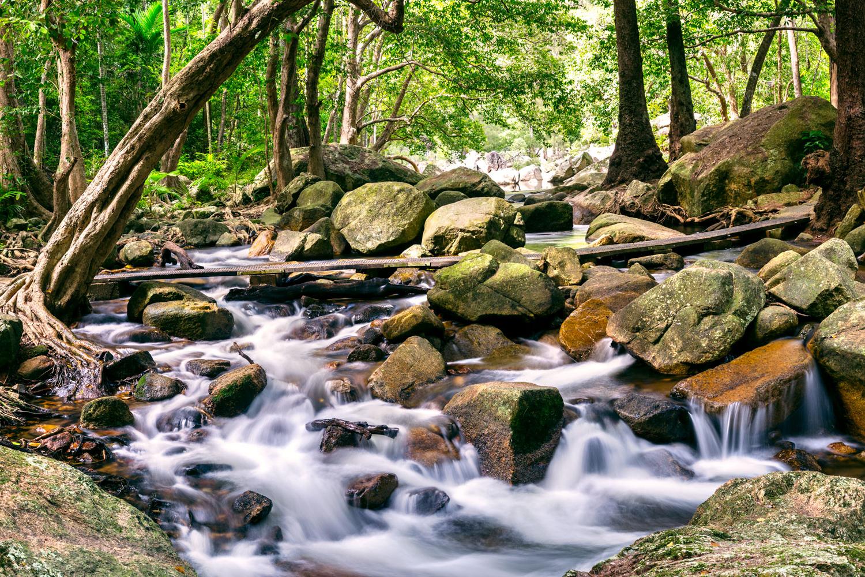 Jourama Falls. PICTURE CREDIT: Quinn Lawson