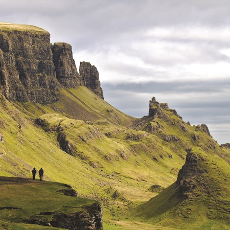 Quiraing, Isle of Skye, Scotland. PICTURE CREDIT: Harald Schmidt/Getty Images